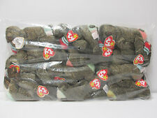"""Ty Beanie Baby SEALED BAG * ONE DOZEN (12)  """"Cheeks"""", the Baboon ALL MINT W/Tags"""
