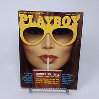 Playboy Magazine August 1982 Summer Sex Issue,  Sony's Akio Morita