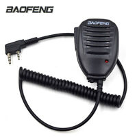 Original BaoFeng 2Pin Speaker Microphone UV-5R UV-5RA BF-888S WalkieTalkie Radio