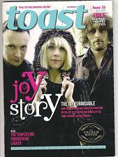 Toast magazine Sheffield issue 33, jan 2013 The Joy Formidable