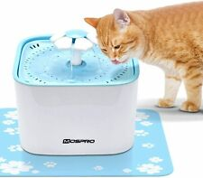 Electric Auto Drinking Fountain Water Dispenser With 2 Filters For Pet Dog Cat