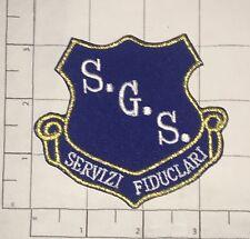 SGS Servizi Fiduciari Patch - Italy - Security
