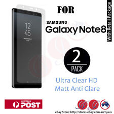 2x For Samsung Galaxy Note 8 Screen Protector Full coverage matte and Clear film