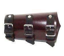 Mahogany Leather Vambrace Gaunlet Cuff Wristband Steampunk Reenactment Arm Guard