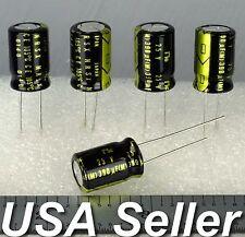 (Lot of 5) 390uF 25V Nic-Comp NRSX Low-ESR 105°C (Japan) Capacitors - USA Seller