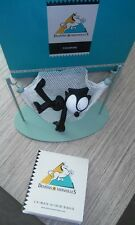 Extremely Rare! Felix The Cat Sleeping in Hammock Demons & Merveilles Fig Statue