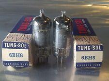Nos Nib Matched Pair Tung-Sol 6Bh6 Vacuum Tubes
