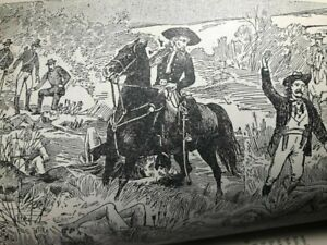 1889 Antique LIFE of KIT CARSON Wild West BUFFALO BILL William Cody INDIANS