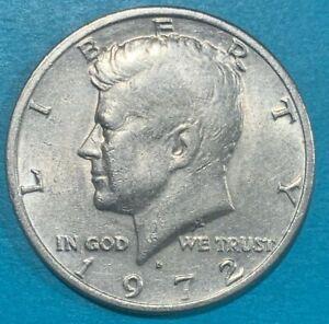 "1972 D United States USA ½ Dollar ""Kennedy Half Dollar"" Coin"