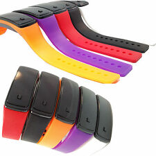 Rectangle Silicone/Rubber Case Wristwatches