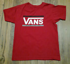 """VANS """"Off The Wall"""" T-Shirt Red Vintage  Rare Size Medium VGUC!"""