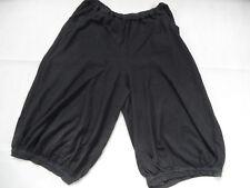 CUT LOOSE grau schwarz gestreifte 3/4 Jersey-Ballonhose Gr. L TOP HMI818