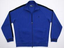 Mens Polo Ralph Lauren Cotton Full Double Zip Cardigan Sweater Jacket Large EUC
