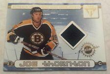 2001-02 Private Stock Titanium Dual Jersey Joe Thornton & Bill Guerin Card #74