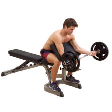 Body-Solid Commercial Preacher Curl Station Bench Attachment (GPCA1)