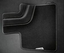 BMW X4 F26 28ix 35ix Series Carpet Black Floor Mat Set of 2 FRONT 2014-2018 OEM