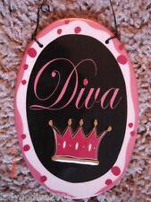 Diva -  sign - Ganz - FREE Shipping