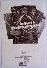 The Velvet Underground 1971 vintage Advert Loaded lou reed john cale
