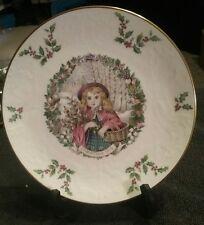 1978 Bone China Christmas Plate Royal Doulton