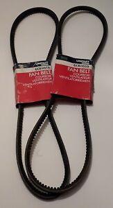 2 Original Vintage Unipart Fan Belts. New, Unused, Original Packaging. GCB11050.