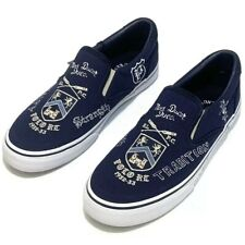 Polo Ralph Lauren Thompson III Rowing Navy Canvas Slip On Shoes Size 13 D  NS13
