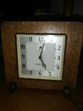 Vintage Wooden Smiths Alarm Clock