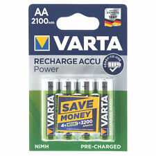 Genuine VARTA READY2USE RECHARGEABLE BATTERIES AA PACK OF 4 UK-BMC