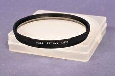 Leica 13337 UVa Filter E77 Schraubanschluss Screwmount / boxed
