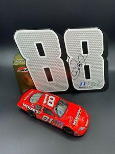 Dale Earnhardt Jr. #81 Menard's Diecast and autographed hero card