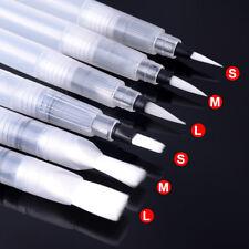 Portable Paint Brush Water Color Brush Pencil Soft Watercolor Brush Pen 6 PCS