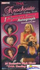 2009 Tristar TNA KNOCKOUTS Wrestling Factory Sealed Box w/ AUTOGRAPH!