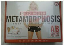Tracy Anderson Metamorphosis Abcentric Fitness 4 dvd set with eating guide