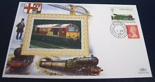 9th Jan 04 Benham Silk FDC TPO Final Service Up:Plymouyh-London  Railway