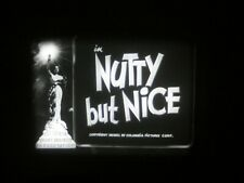 "16mm Sound short 3 Stooges "" Nutty But Nice  "" 800' VG print"