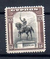 Cyprus KGV 1928 18pi mint MH SG130 WS18432