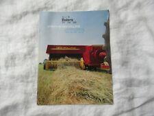Sperry New Holland 311 316 326 baler brochure