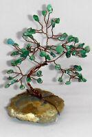 5 inch-gemstone tree AVENTURINE gem tree THUNDEREGG Feng Shui crystal healing