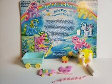 Vintage My Little Pony G1 Lofty  Beddy Bye Eyes Near complete Wagon Duck