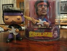 Jimi Hendrix Collectibles: Rare 2009 Funko Force Purple Haze & #1 just figure