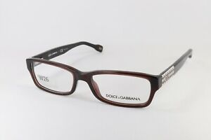 D&G Dolce Gabbana DD 1207 1839 in Mocha 51-16-135 Flex Hinges Authentic W26