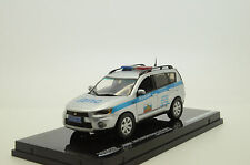 RARE !! Mitsubishi New Outlander Russian Police Custom Made 1/43