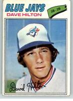 1977 Topps #163 Dave Hilton M1C346