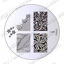 konad Image Plate M89 Disc Stamping Nail Art UK