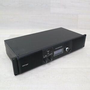 Behringer NX3000D Ultra-Lightweight Class-D Power Amplifier AS IS