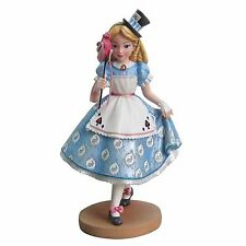 New DISNEY SHOWCASE Figurine ALICE IN WONDERLAND MASQUERADE Sculpture MAD HATTER