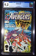 Avengers #247 CGC 9.2..Guest-starring Quicksilver & Eternals..Movie in November