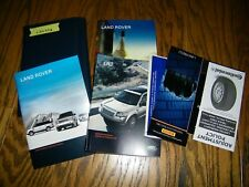 2009 Land Rover Lr2 Lr 2 owners manual with case Lan338