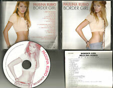 PAULINA RUBIO Border Girl w/ BOUNS RARE MIX & VIDEO TRK JAPAN CD USA Seller
