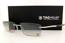 Brand New TAG Heuer Sunglasses SPRING 0382 104 PURE/BLACK/GRADIENT GREY for Men