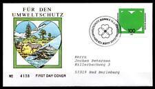 Umweltschutz. Zebras. FDC-Brief. BRD 1994